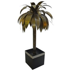 Palm Tree Floor Lamp by Maison Jansen