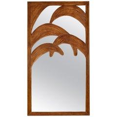 """Palm tree"" Vintage Mirror"