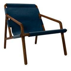Paloma Blue Armchair by Aphos Design Studio