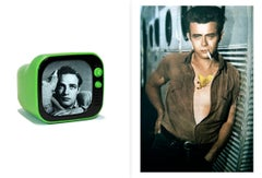 Diptych: Marlon Brando and James Dean from the Castelloland series,  Large