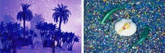 Diptych, Tropicarios #6 and #7  from the Tropicarios series