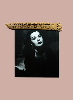 Hedy Lamarr, Contemporary Color Photograph (Small Size), 2018