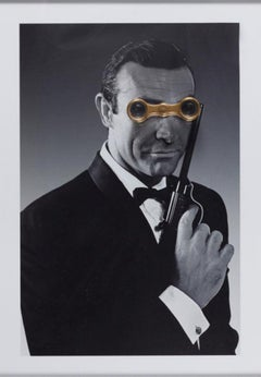 James Bond 007/ Sean Connery CastelloLand Series Contemporary Color Photograph