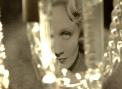 Marlene Dietrich, Contemporary Color Photograph (Small Size), 2018