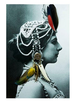 Mata Hari, Contemporary Color Photograph (Small Size), 2018