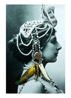 Mata Hari, Contemporary Color Photograph, Small Size, 2018