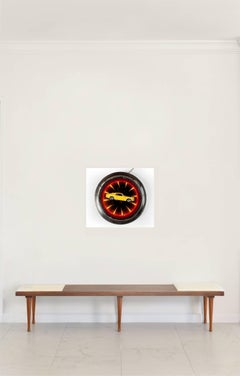 'Mustang Clock' Castelloland- Contemporary Color Photograph