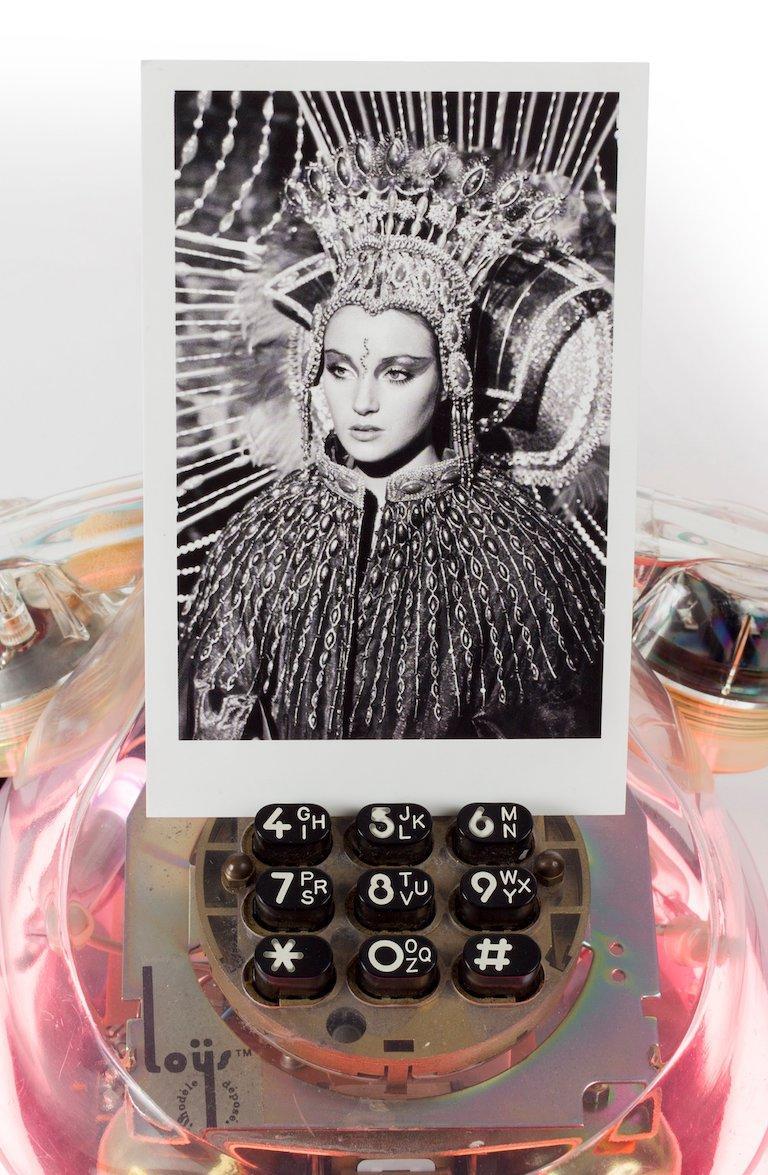 'Neon Diva' Castelloland,  Contemporary Color Photograph (Small Size) For Sale 3