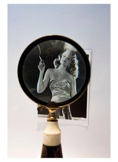 Rita Hayworth, Contemporary Color Photograph (Small Size), 2018