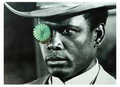 Sidney Poitier, Contemporary Color Photograph (Large Size), 2018