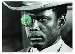 Sidney Poitier, Contemporary Color Photograph (Small Size), 2018