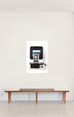 'TV Capsule' Castelloland- Contemporary Color Photograph