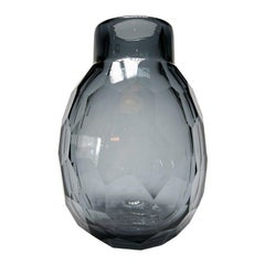 Paloma Faceted Murano Glass Vase