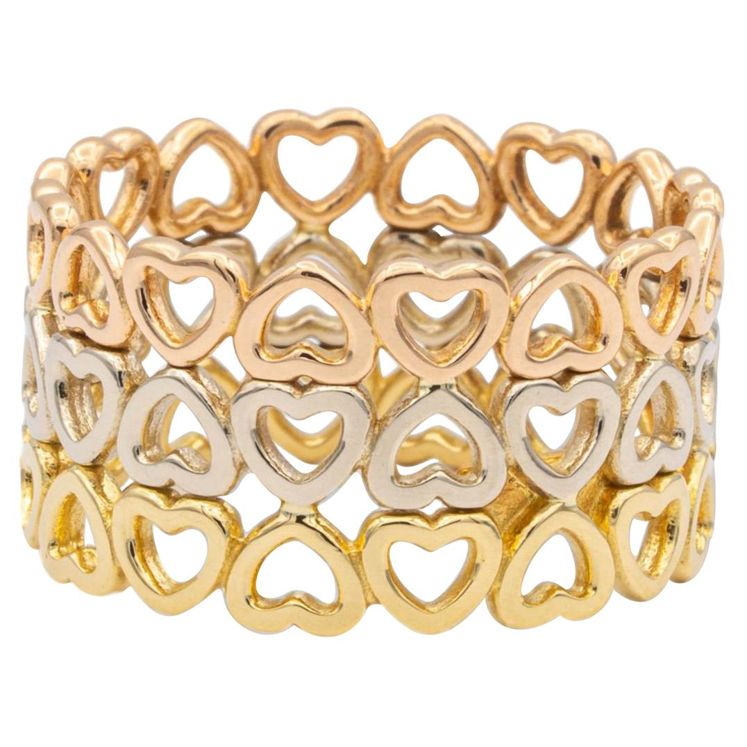 Paloma Picasso Collection Loving Heart Band Ring