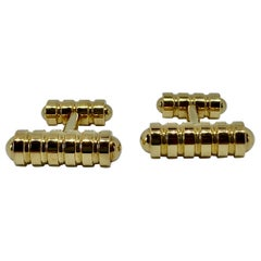 Paloma Picasso for Tiffany & Co. Cufflinks in Solid 18 Karat Gold
