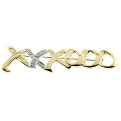 Paloma Picasso for Tiffany & Co. Love and Kisses Diamond Brooch