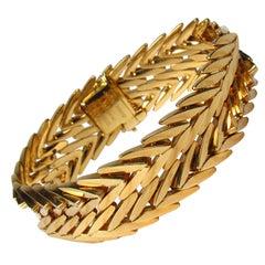 Paloma Picasso Tiffany & Co. 18 Karat Yellow Gold Link Bracelet
