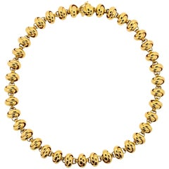 Paloma Picasso Tiffany & Co. Gold Necklace