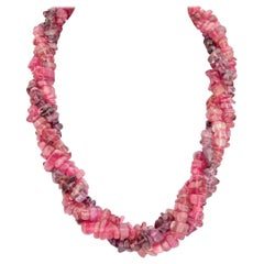 Paloma Picasso, Tiffany & Co. Pink and Purple Tourmaline Three-Strand Necklace