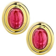 Paloma Picasso Tiffany & Co. Pink Tourmaline Clip-On Earrings