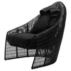 Palpatine Armchair in Black Finish