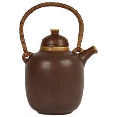 Palshus Ceramic Teapot by Danish Frode Bahnsen, Denmark, 1960s
