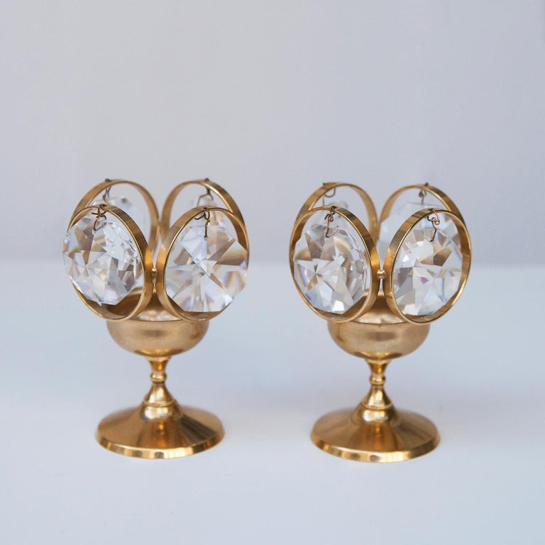 German Palwa Candleholders, 1970s For Sale