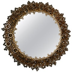 Palwa Mirror with Swarovski Crystals, Germany, 1970s