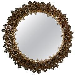 Palwa Mirror with Swarovski Crystals, Germany, 1970s
