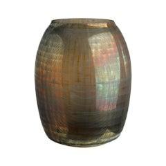 Palymyra Vase in Brown Glass by CuratedKravet