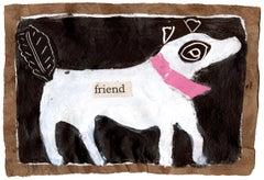 Small Friend (Dog) Giclee Print