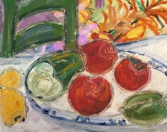 Fresh Vegetables, Still Life, British Artist