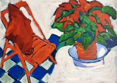 The Kitchen Chair, Still Life by British Artist