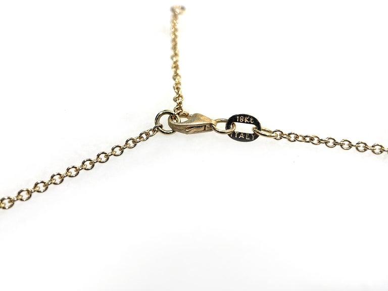 Women's Pamela Froman Fine Tahitian Pearl White Diamond Gold Lariat Drop Necklace For Sale