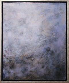 """Something Worth Remembering #4"" by Pamela Gibson, Encaustic painting, 2019"
