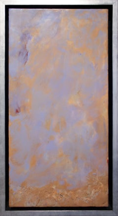 """""""Nothing Gold Can Stay"""" by Pamela Gibson, Encaustic on board, 2019"""