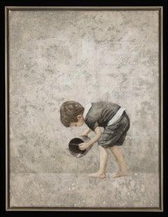 INTENT - nostalgic painting of child