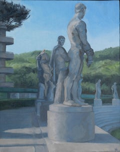 Last Light, Marble Athletes from the Provinces of Rovigo, Messina & Rieti