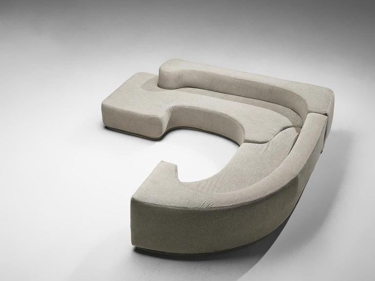 Italian Pamio, Massari & Toso 'Lara' Sectional Sofa