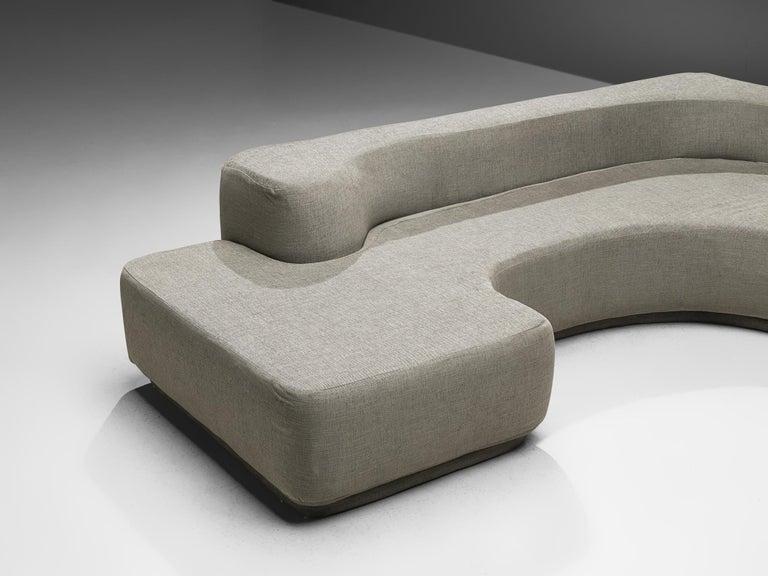 Mid-20th Century Pamio, Massari & Toso 'Lara' Sectional Sofa