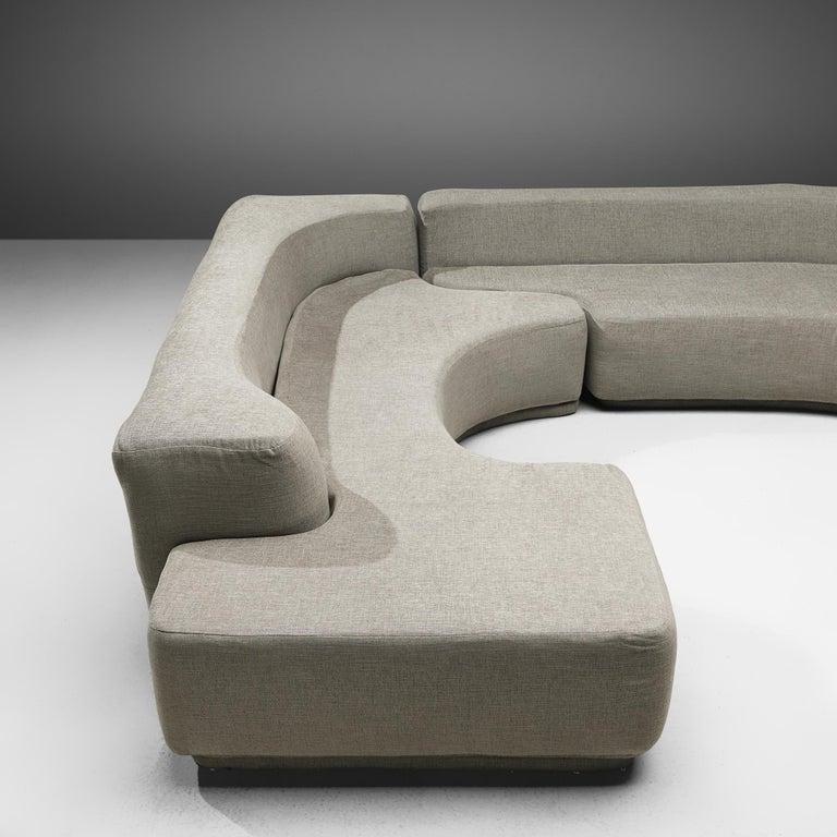 Fabric Pamio, Massari & Toso 'Lara' Sectional Sofa
