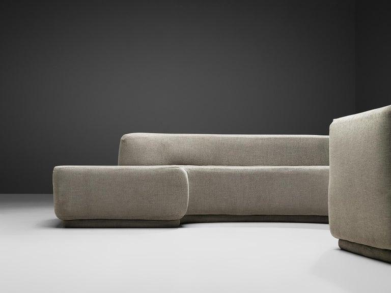 Pamio, Massari & Toso 'Lara' Sectional Sofa 2