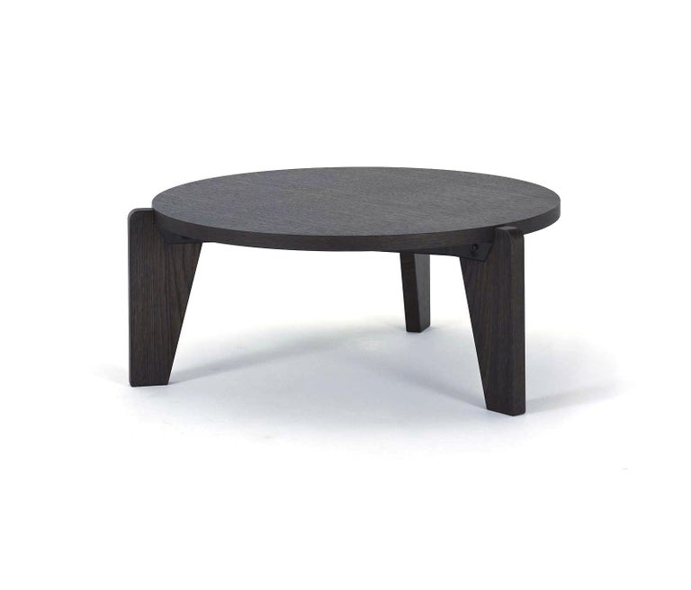 Jean Prouvé Guéridon Bas Coffee Table in Natural Oak for Vitra 2