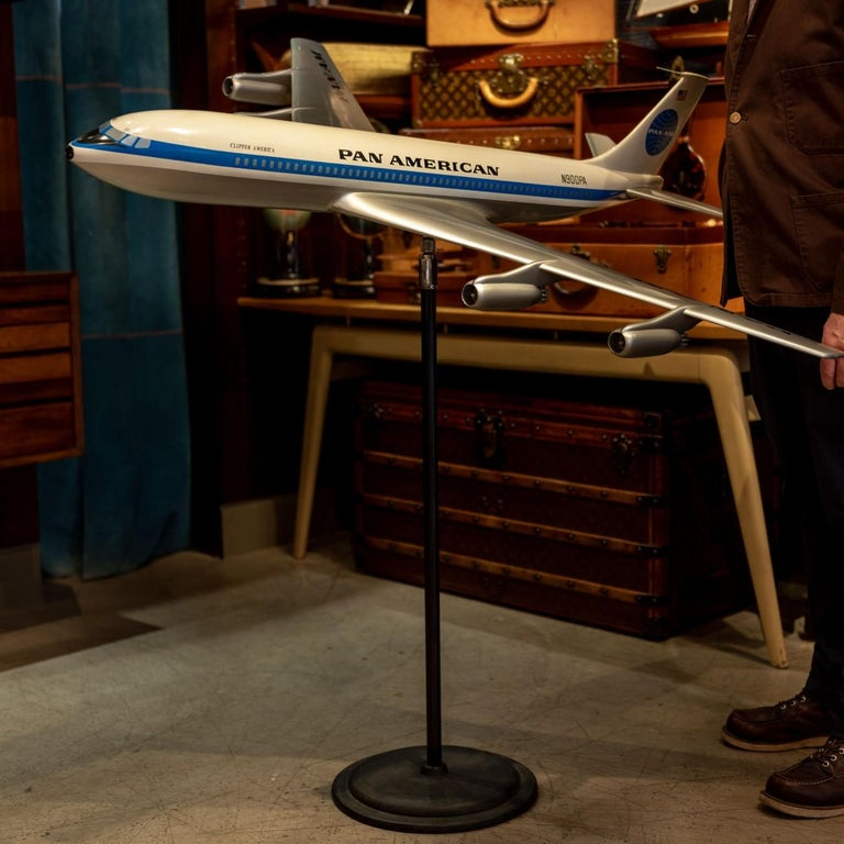 American Pan Am Boeing 707 Model Aircraft, circa 1958 For Sale
