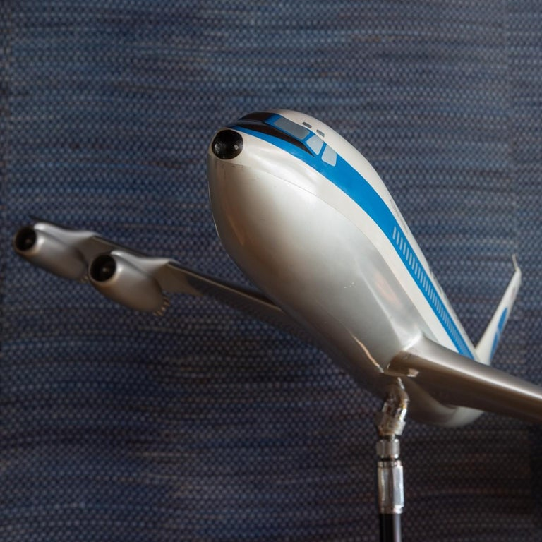 Pan Am Boeing 707 Model Aircraft, circa 1958 In Good Condition For Sale In London, GB