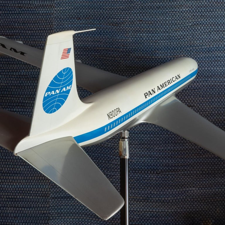 Pan Am Boeing 707 Model Aircraft, circa 1958 For Sale 2