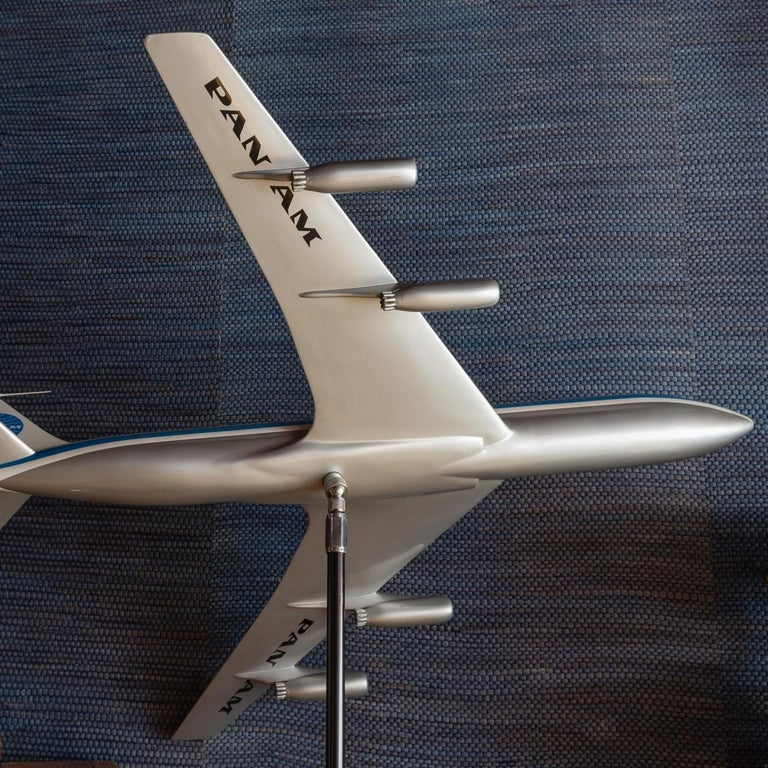 Pan Am Boeing 707 Model Aircraft, circa 1958 For Sale 3