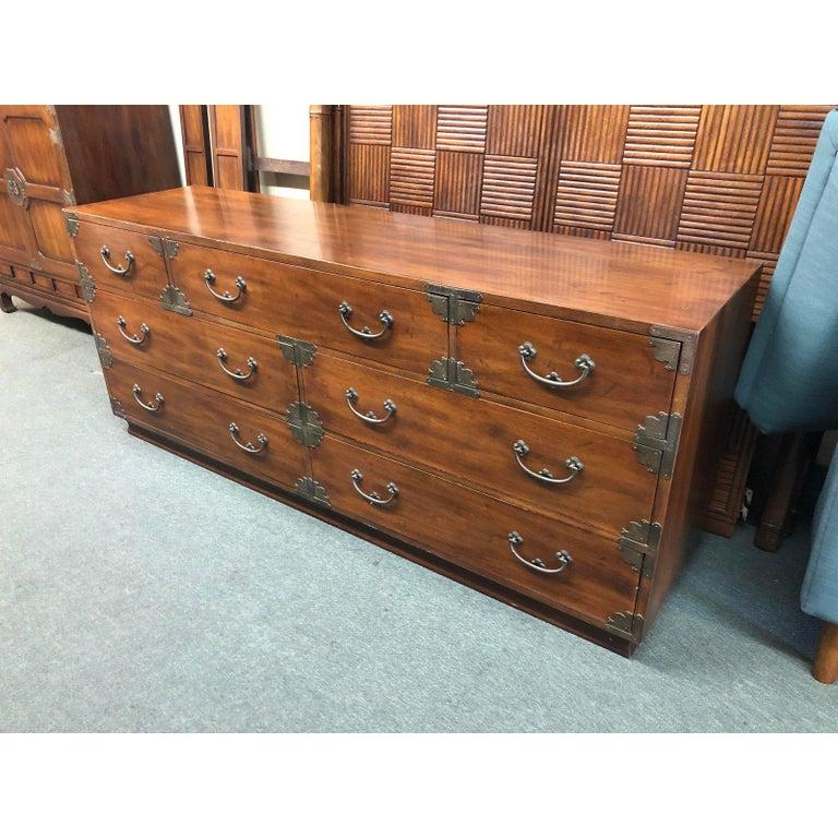 Pan Asian Seven Drawer Dresser By Henredon For At 1stdibs