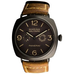 Panerai Ltd Edition Radiomir Composite Marina Militare 8 Giorni Wristwatch B&P