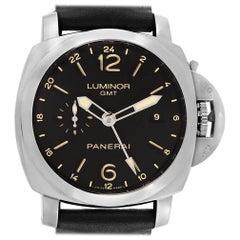 Panerai Luminor 1950 3 Days GMT 24H Acciaio Watch PAM531 PAM00531